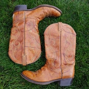 ACME Western Cowboy Boots 13D Leather